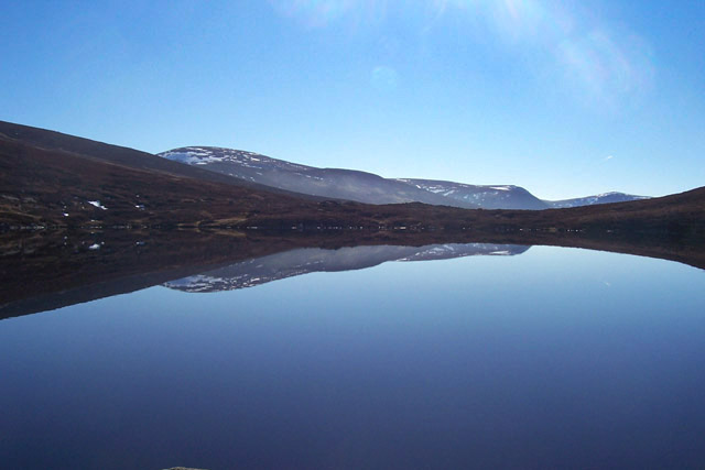 Early Spring At The Lochan